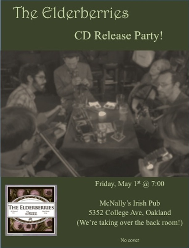 CD Release Flyer