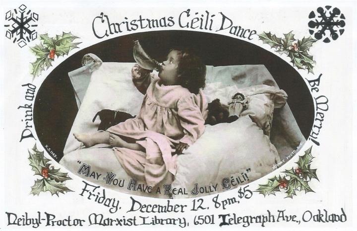 December Ceili Flyer