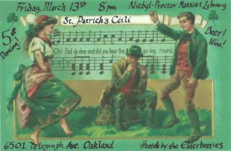 March Ceili Flyer